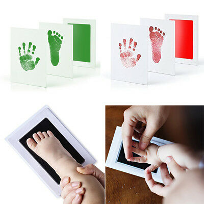 Inkless Wipe Hand&Foot Print Kit Newborn, Baby, Children Safe Christmas Gift TP
