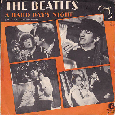 THE BEATLES - A HARD DAY'S NIGHT - Parlophone R 5160