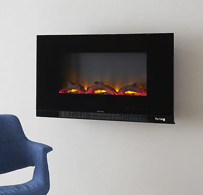 Phenomenal E Flame Usa Led Electric Wall Mounted Fireplace Insert Interior Design Ideas Gentotthenellocom