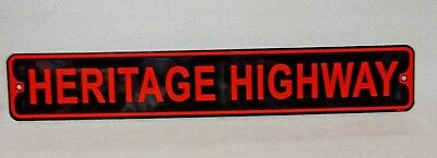 HARLEY DAVIDSON motorcycles HERITAGE HIGHWAY metal  sign $14.95 free shipping