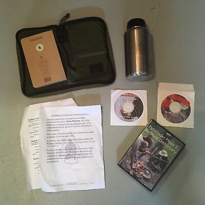 Pathfinder School Survival Phase I DVD Kit Stainless Canteen Notebook BUSHCRAFT