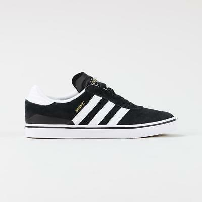 finest selection a0cb7 9b17b Adidas Skateboarding Busenitz Vulc Shoes Mens Trainers Black White Gum Sole