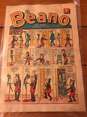 Beano Vintage Antique Comic 1965 July 17th No 1200 Immaculate Condition