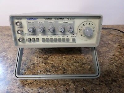 Goldstar FG-8002 Function Generator *Pulled from a working environment