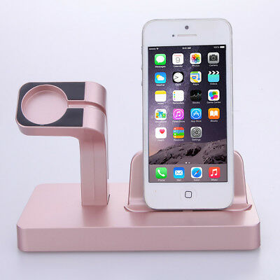 For Apple Watch iWatch Charging Dock Stand Bracket Accessories iPhone Holder #MM