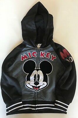 Disney  Mikey Mouse Zip Up Hoodie Size 3T(Toddler 3 Years )
