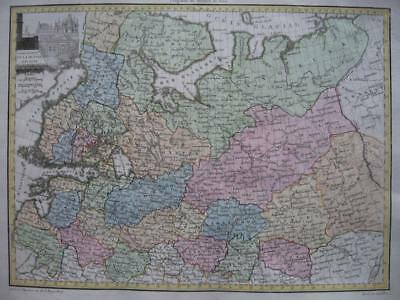 1812 LAPIE - Map NORTHERN PART OF RUSSIA IN EUROPE  FINLAND  Moscow Kremlin