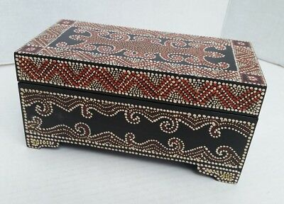 Hand Painted Wooden Box - Made in Indonesia - Ten Thousand Villages
