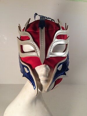 Vintage Made In Mexico Wrestling Mask Jasbel Textile - Great Halloween Costume