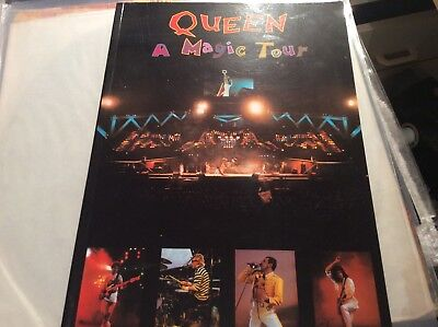 Queen - A Kind Of Magic 1986 Tour Programme