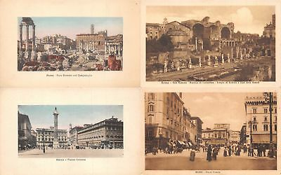 Lot of 20 Early / Vintage Rome, Italy City Views Postcards 2 RPPC's #137239 R