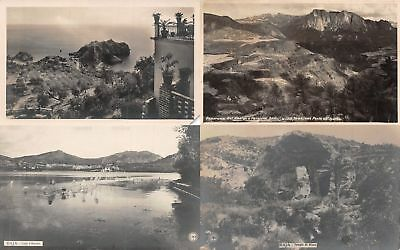 Lot of 18 Early / Vintage Italy Scenic Postcards 6 RPPC's #137233 R