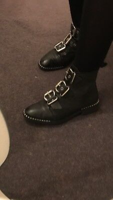 alfie buckle ankle boots