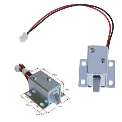 6V/12V Mini Small Electromagnetic Electric Auto Control Cabinet Drawer Lock