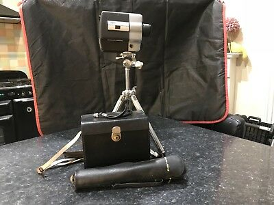 Argus model 810 super eight with case and tripod