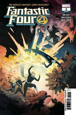 Fantastic Four #2 2018 Standard Cover