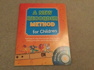 A New Recorder Method for Children Practice CD & Book