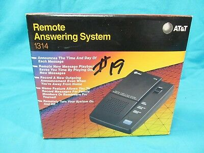 Nos At&t 1314 Remote Answering Machine System