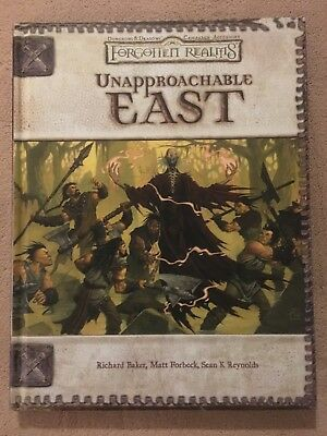 Unapproachable East - Forgotten Realms - Dungeons & Dragons - Collector Copy