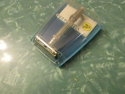 "Gillette 1962 H3 ""slim"" Adjustable Safety Razor, Orig Case"