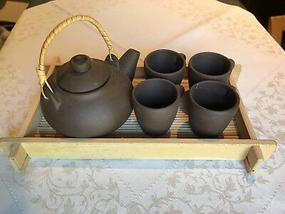 Miniature Japanese 7 Piece Tea Set