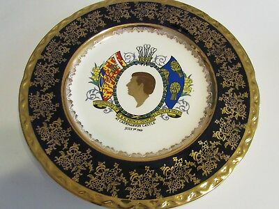 Investiture of H.R.H. Prince Charles as Prince of Wales Plate