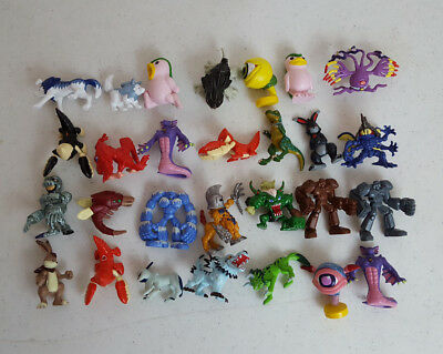 Lot of 28 Vintage 1998 Bandai Digimon Mini Figures
