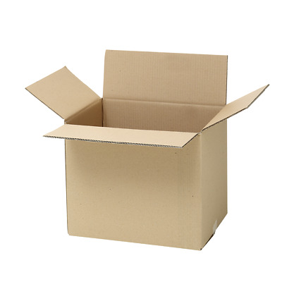 20 x 50 L Moving Cardboard Boxes Removalist Packing Cartons- STRONG & COMPACT