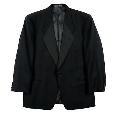 mens Tuxedo Jacket MANI black 42XS wool Italy Giorgio Armani 1-BTN tux coat *442