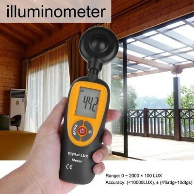5X(Hti HT-92 Digital IlluminometerMini Light Meter Instrument Environmental  I3)