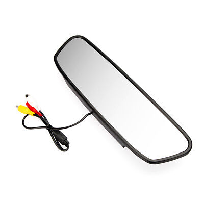 "5"" Digital Color TFT LCD Car Rearview Mirror Reverse Monitor for Camera DVD S7S0"