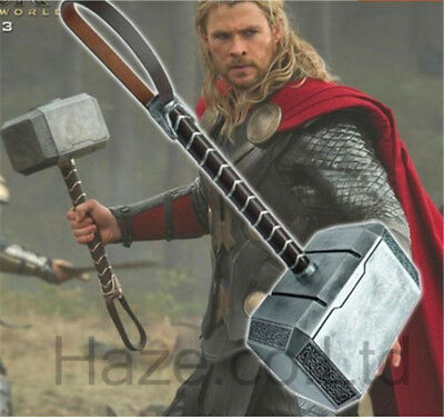 1/1 Avengers Thor's Hammer The Dark World Mjolnir Model Statue Collection