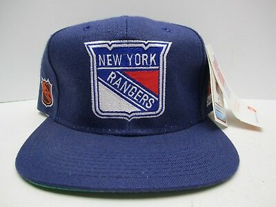 NEW VTG Authentic Sports Specialties NHL New York Rangers Snapback Hat Deadstock