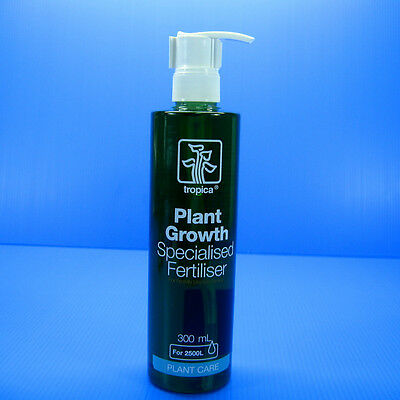 Tropica Plant Growth Specialised Fertiliser 300ml- Fertilizer food  fish tank