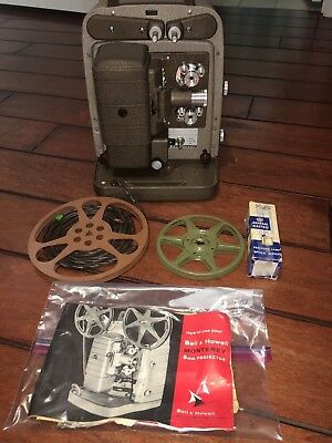 Bell & Howell 8mm Monterey Movie Projector