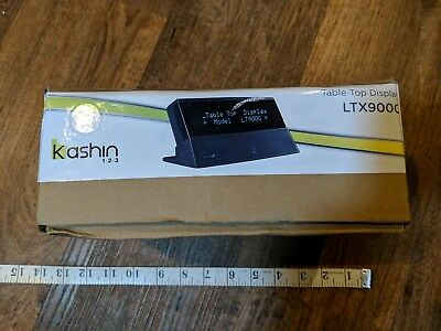 Point of sale POS Point Of Sale display Kashin LTX9000 table top display