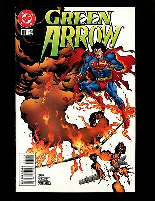Green Arrow #101 (1988 Series) VFNM Death of Oliver Queen Superman JLA Zatanna