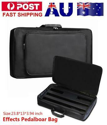 Portable Guitar Effects Pedal Board Gig Bag Soft Case Universal60*33*10cm