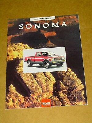 1993 Gmc Sonoma Truck Sales Brochure 24 Pages Nice!