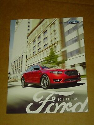 2017 Ford Taurus Sales Brochure 20 Pages Mint! Includes Sho