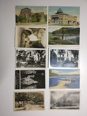 Lot of 30 Arkansas Vintage Postcards