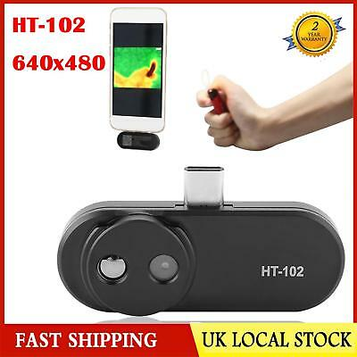 HT-102 USB Type-C plus Infrared Camera Thermal Imager 640x480 for Android Phone