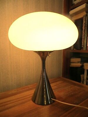 Rare Laurel USA Lampe Champignon de Bill Curry années 60 Space age