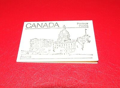 "Kanada: Briefmarkenheftchen ""Edmonton - The Alberta Legislative Building"""