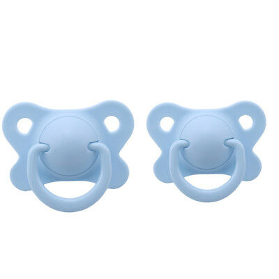 2 Sizes Nipple Soother Pacifier Baby Infant Orthodontic Dummy Teether B