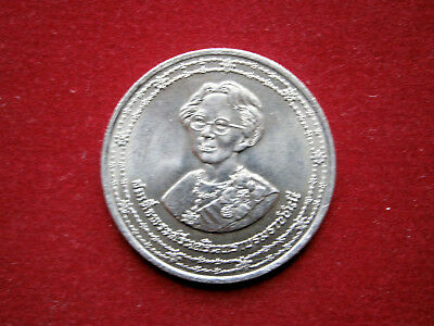 Thailand Münze 10 Baht 1990 90 Th Birthday Of Kings Mother Eur 5