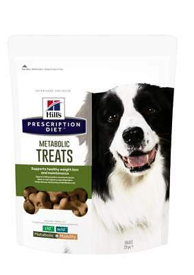 Hill's Prescription Diet Canine Metabolic Weight Loss Management Dog Treats 220g