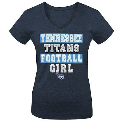 Tennessee Titans 5th   Ocean by New Era Girls Youth Football Girl Tri-Blend 346143228