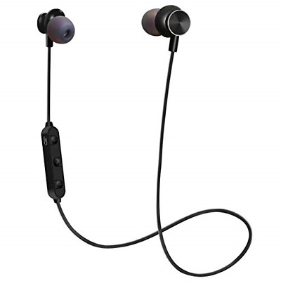 Bluetooth Sport Headphones, Stereo Magnetic Wireless Earbuds with HD Mic 4.2 and