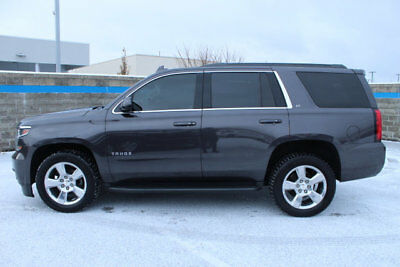 2016 Chevrolet Tahoe 4WD 4dr LT 4WD 4dr LT SUV Automatic 8 Cyl TUNGSTEN METALLIC